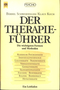 B. Schwertfeger, K. Koch: Der Therapieführer